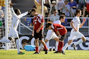 Akron redeemed itself in the 2010 men's national championship, defeating Louisville 1-0.