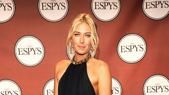 Maria Sharapova is a former No. 1 who has won three Grand Slam singles titles, but all the fashion mavens care about is the Alexander McQueen dress she wore to this year's ESPYs.