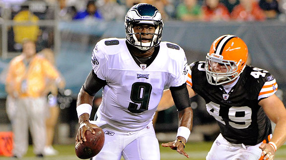 Vince Young is no Michael Vick, but if injuries continue to plague Vick, Young will be an apt fill-in for the Eagles and your fantasy squad.