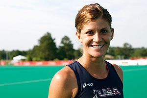Rachel Dawson, a 2008 Olympian, will be one of the leaders of the American team at Pan Ams. The U.S. hopes to upset Argentina and claim a 2012 Olympic berth.