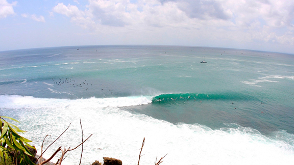 Due to pollution, surfers visiting Bali, Indonesia have experienced an upswing in infections, including Dengue fever.