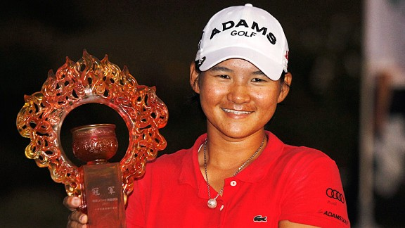 Yani Tseng won on her home turf Sunday in the Sunrise Taiwan Championship.