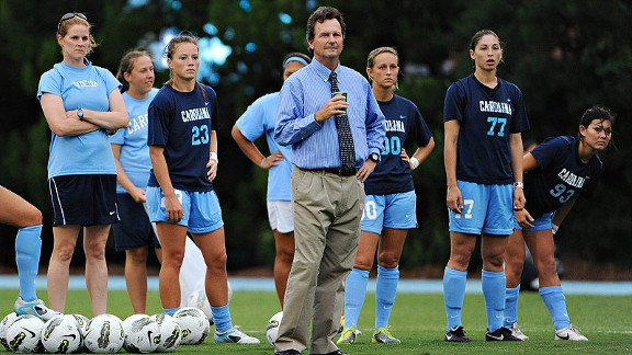 North Carolina coach Anson Dorrance's record speaks for itself after winning 20 NCAA women's soccer championships, but he still feels like the underdog going up against Stanford in the College Cup semifinal on Friday.