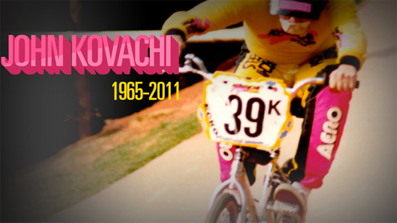 John Kovachi of Kovachi Wheels, remembered for his no-nonsense manner and his take care of business commitment to the sport.