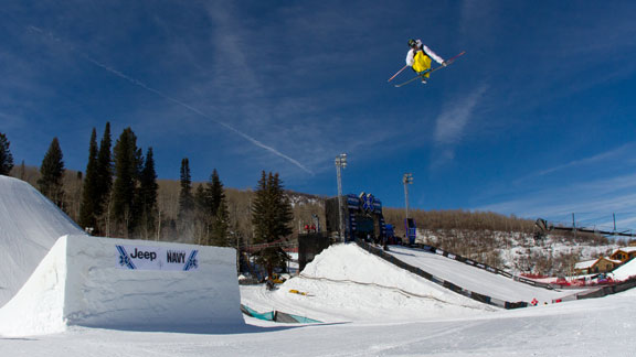 Alex Schlopy, was nominated for the U.S. Freeskiing Slopestyle team today, along with Bobby Brown, Sammy Carlson, Gus Kenworthy and Tom Wallisch.