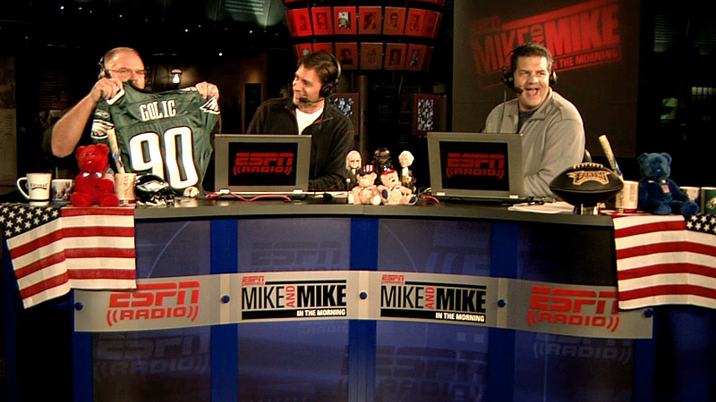 Mike and Mike in Philadelphia