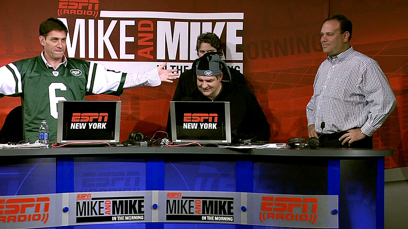 Mike & Mike MetLife Stadium