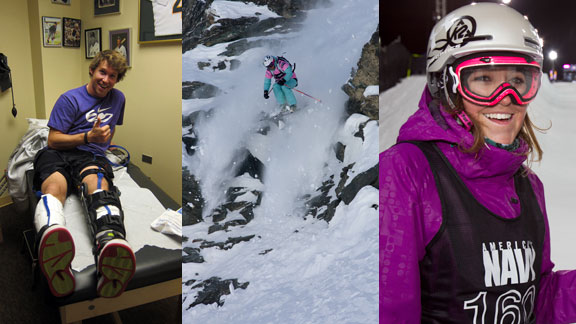 TJ Schiller, Jess McMillan, and Brita Sigourney are all bouncing back from injury this winter.