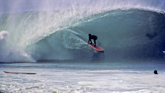 Surfing Pipe used to be more of a purists' pursuit, but in '71, Aikau and others took part in the original Expression Session, and thus the bar was set. Conceived to be the antithesis of competitive surfing, the format is still utilized today.