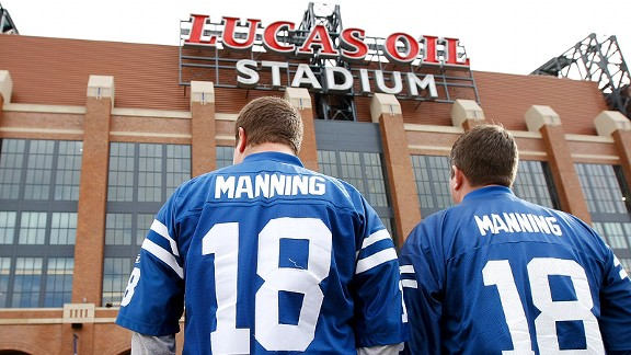 Despite an 0-13 start in 2011, Colts fans still packed Lucas Oil Stadium every week.
