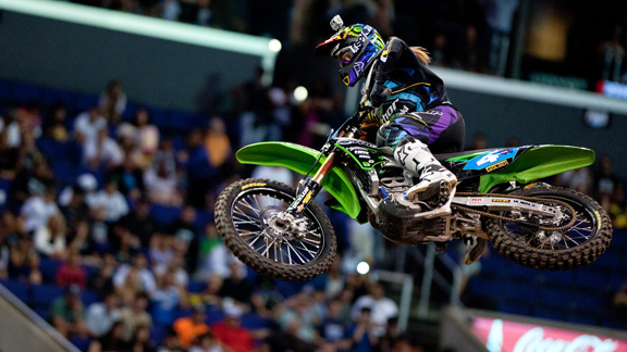 Vicki Golden took the win in Women's Moto X at X Games 17.