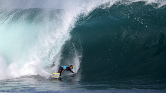 Hobgood was fairly fearless at Pipe.