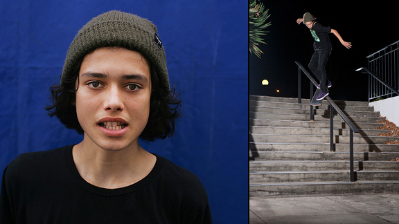 Trevor Colden and a backside smith in Greensboro.