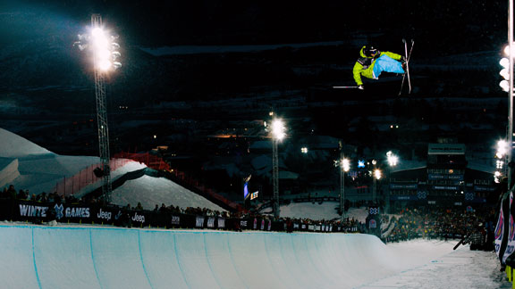 Duncan Adams competing at Winter X Aspen in 2011.