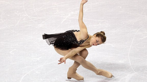 Ashley Wagner, competing in the free skate, won the national title.