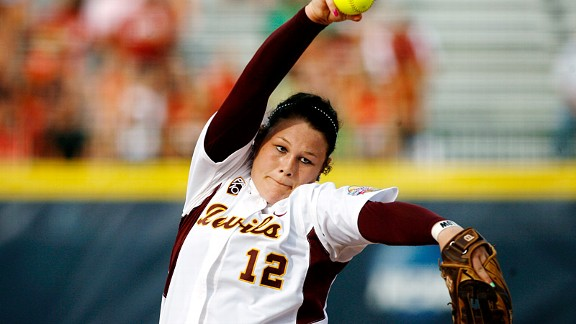 Arizona State pitcher Dallas Escobedo was 24-8 with 237 strikeouts last season.
