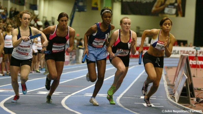 2012 Boston Grand Prix Girls 4x400