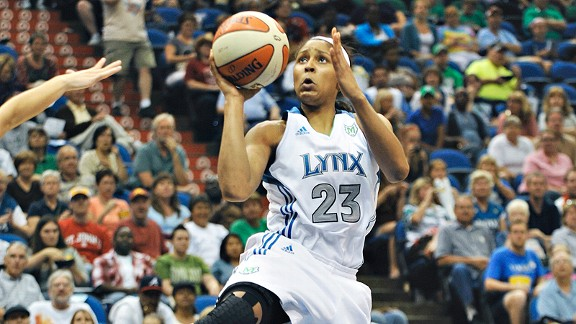 The biggest difference Maya Moore has noticed in her first Euroleague season? The importance of defense. Every player on the floor is a capable shooter.