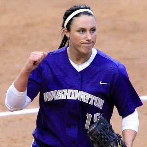 Danielle Lawrie pitched every inning of the 2009 Women's College World Series and led Washington to its first national championship that year.