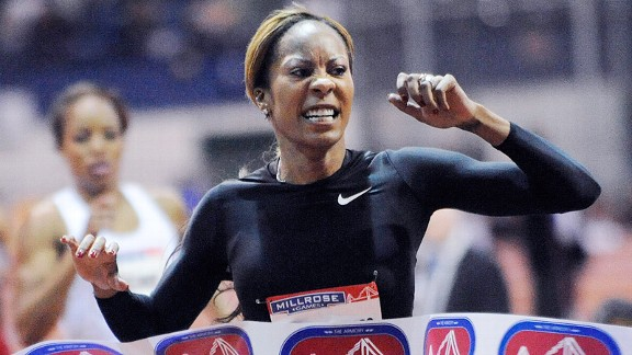 At last Saturday's Millrose Games in New York City, Sanya Richards-Ross ran a world-leading 50.89 to win the 400 meters by nearly a full second.