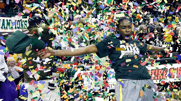 Jordan Madden and Baylor celebrated what they hope will be the first of a few titles this season.
