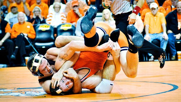 Has Title IX hurt men's sports, such as wrestling? The numbers might surprise you.