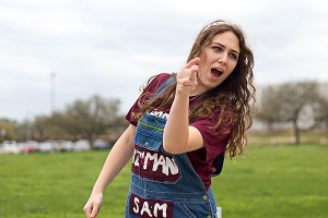 Sam Ketcham is one of two women on the 10-person ballot for Texas A&M yell leader.