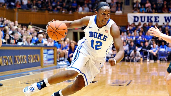 Chelsea Gray and Duke come into the ACC tournament with momentum after wins over Miami and UNC.