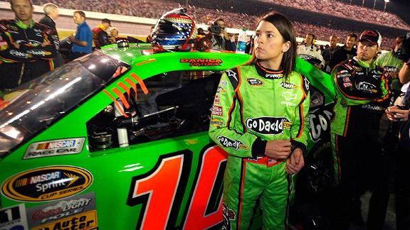 After wrecking on Lap 2 Monday, Danica Patrick said she wished it could have gone better, especially for the fans.