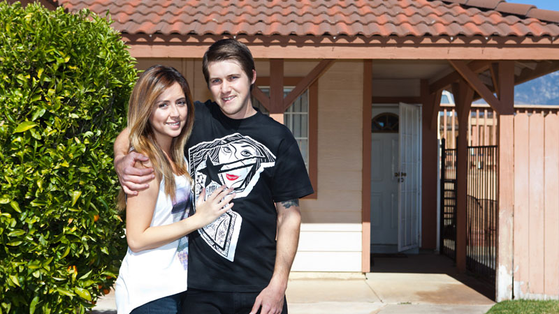 James Foster and girlfriend Veronica in Beaumont, Calif. a class=launchGallery href=http://www.espn.com/action/photos/gallery/_/id/7662037/inside-famous-pro-james-foster-beaumont-calif-houseiLaunch Gallery »/i/a