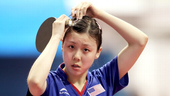 Ariel Hsing only lost two matches at the U.S. table tennis trials, finishing second overall and earning a spot on the world team.