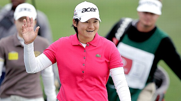 Yani Tseng has won three of five LPGA events this season and has done it with a smile.