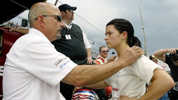 Danica Patrick describes her time with Bobby Rahal as a crucial juncture in her career.