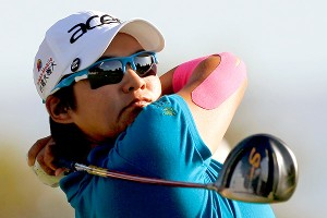 Yani Tseng shot her second consecutive 68, then left to play some pickup basketball.