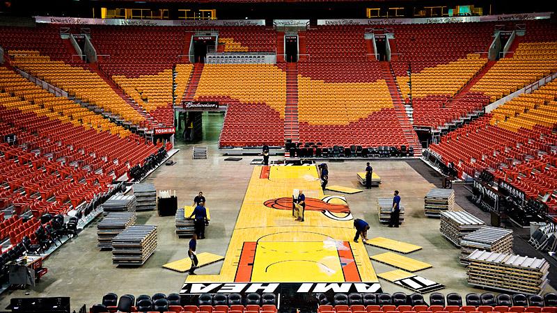 Arena Crew