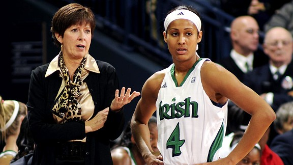 Coach Muffet McGraw and her star, Skylar Diggins, have some unfinished business to take care of one year after losing to Texas A&M in the title game.