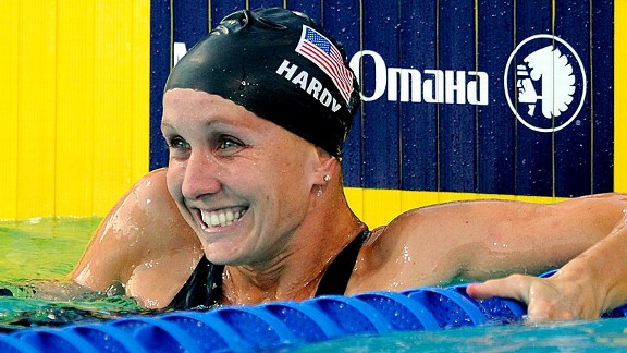 Jessica Hardy credits her new mental focus -- and support from her fianc, Dominik -- for her convincing comeback after a 2008 doping suspension.