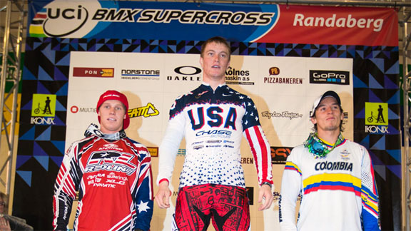 Team USA's Connor Fields topped the Elite Men's podium yet again in Norway. a class=launchGallery href=http://espn.go.com/action/photos/gallery/_/id/7816397/2012-uci-supercross-round-two-stavanger-norwayiLaunch Gallery »/i/a