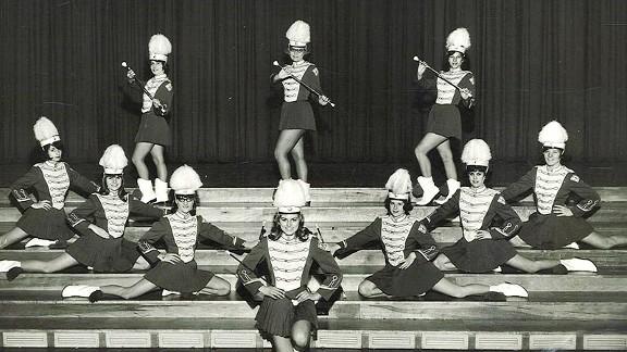 Baton Twirling Ladies