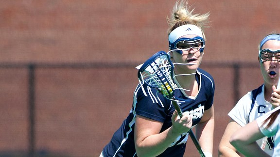 Brittany Mallory earned high school All-American honors in the lacrosse hotbed of Baltimore.
