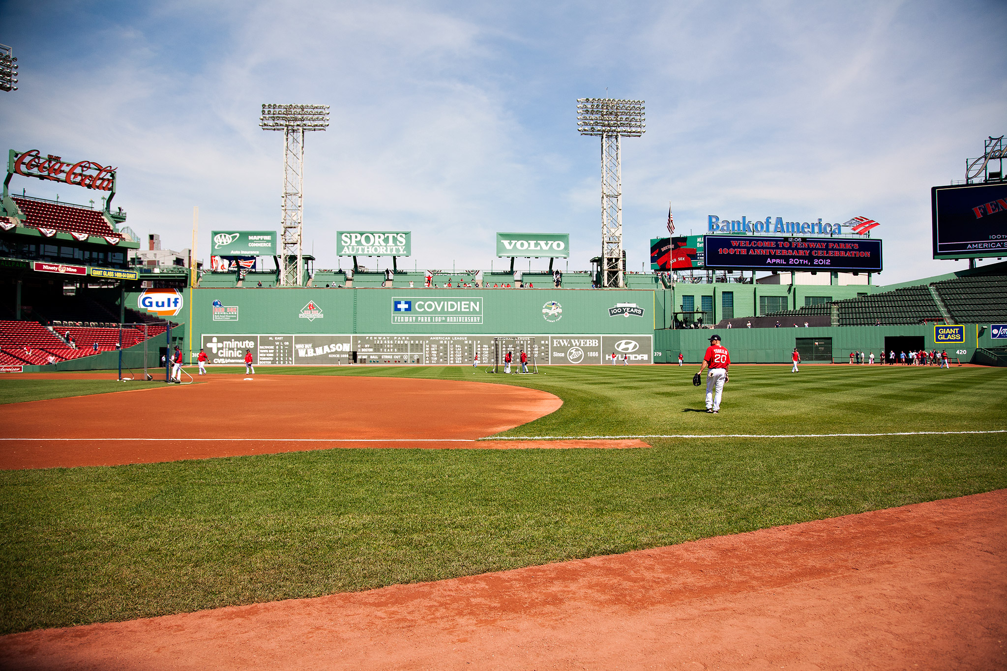Fenway 100th Anniversary Game