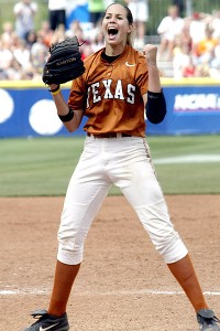 Cat Osterman was as tall as Keilani Ricketts but didn't have the same stature as the Oklahoma star.