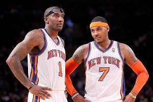 Amare Stoudemire and Carmelo Anthony have the Knicks in the playoffs for the second straight year, but that's not enough for the hometown crowd or media.