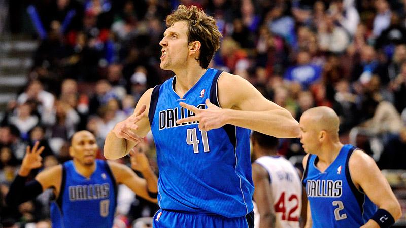 Dirk vs 76ers
