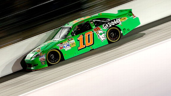 Danica Patrick avoided trouble Saturday night; in February at Daytona, she spent a lot of time in the garage after a first-lap crash and finished 38th.