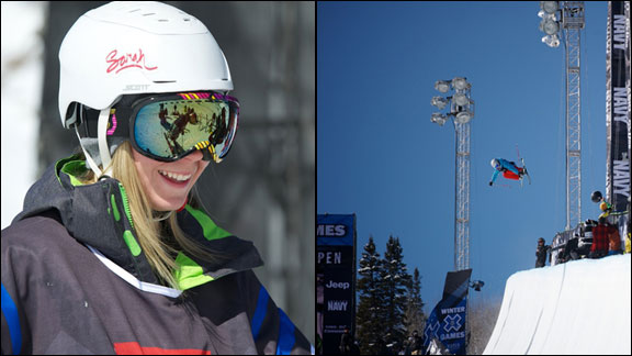 Dara Howell competed in her first Winter X Games this year.