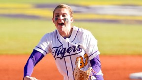 LSU junior pitcher Rachele Fico scattered eight hits to hold Missouri to one run Saturday.