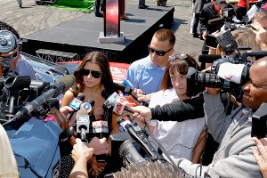 The media barrage has been constant since Danica started racing Indy cars in 2005.