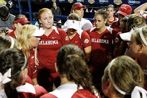 Momentum shifted away from Oklahoma in the fourth inning.