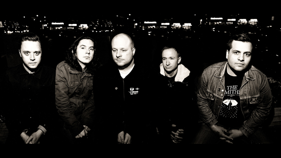 Narrows, from left to right, Jodie Cox, Ryan Frederiksen, Dave Verellen, Sam Stothers and Rob Moran.